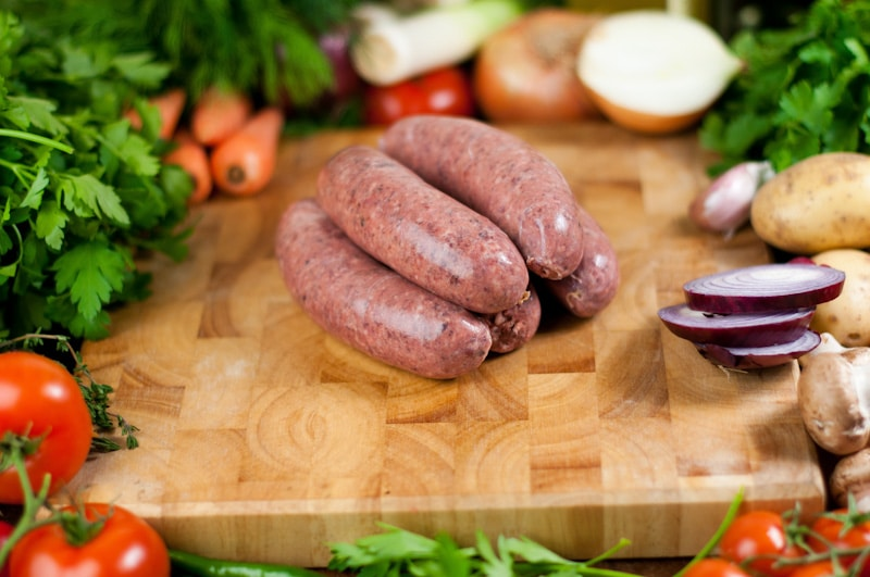 Black Pudding Sausages