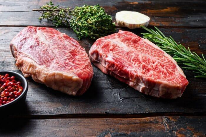Organic Grass-Fed Feather Steaks
