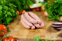 Organic Gluten Free Pork and Garlic Sausage