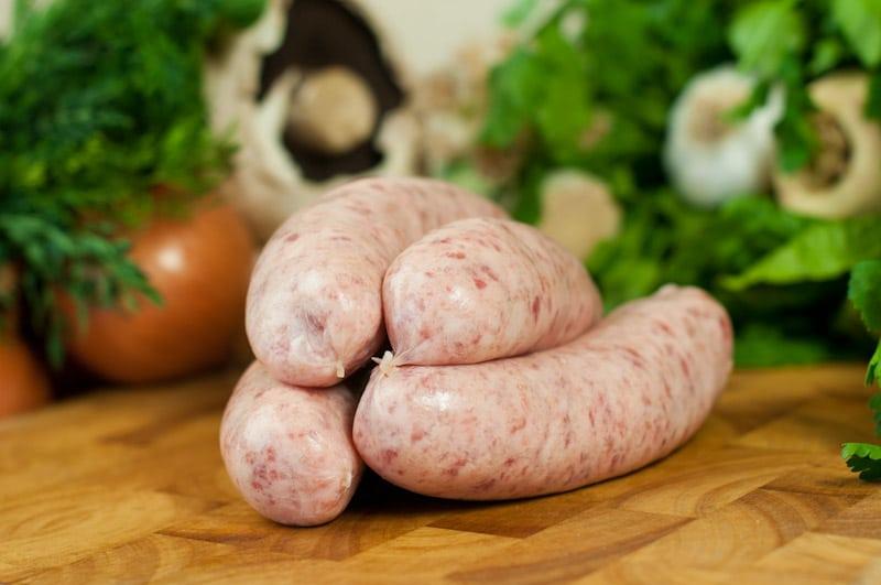 Organic Pork and Leek Sausages