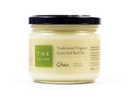 Organic Grass Fed Tallow
