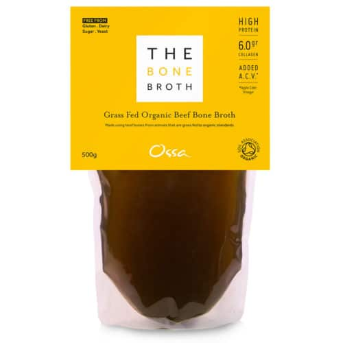 Ossa Organic Beef Bone Broth