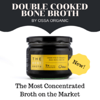 New Ossa Double Cooked Bone Broth Concentrate