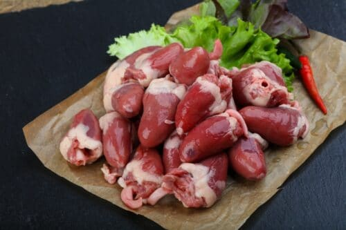 Organic Chicken Hearts