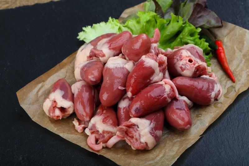 Organic Chicken Hearts